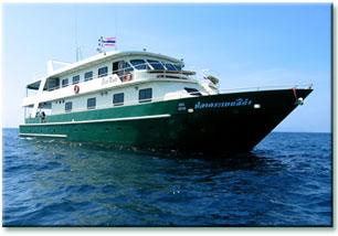 Таиланд дайвинг сафари яхта M/V M/V Black Manta