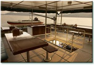 Таиланд дайвинг сафари яхта M/V M/V Black Manta upper deck