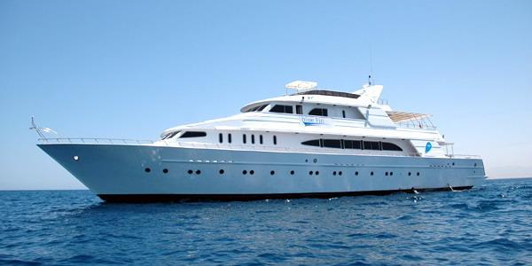 Египет дайвинг сафари яхта M/Y Blue Fin