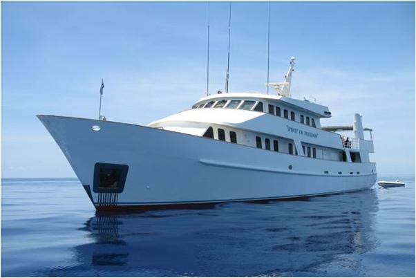 дайвинг сафари австралия дайв сафари лодка Spirit of Freedom
