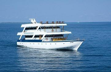 Мальдивы дайвинг сафари яхта M/Y Dive Master