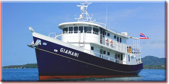 Таиланд дайвинг сафари яхта M/Y Giamini