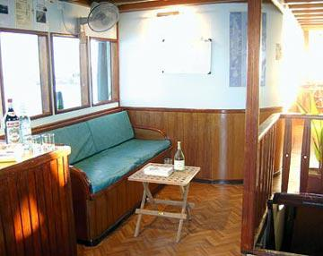 дайвиг сафари мальдивы лодка Horizon II салон