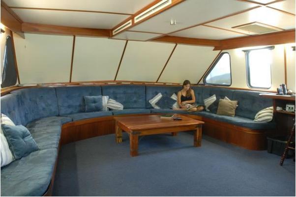 дайвинг сафари австралия дайв сафари лодка Spirit of Freedom салон