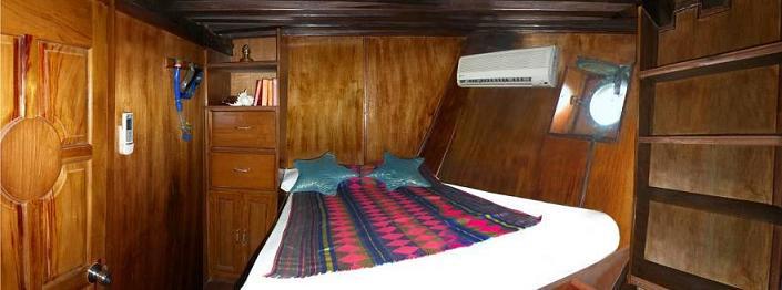 Индонезия дайвинг сафари яхта S/M/Y Moana каюта