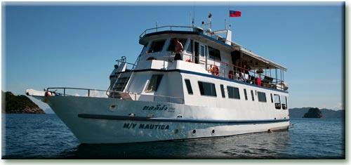 Таиланд дайвинг сафари яхта M/Y Nautica