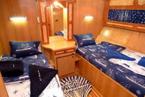 Египет дайвинг сафари яхта M/Y Obsession двухместная каюта