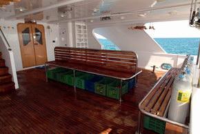 Египет дайвинг сафари яхта M/Y Obsession dive deck