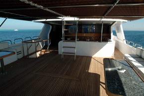 Египет дайвинг сафари яхта M/Y Obsession sun deck