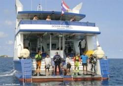 Таиланд дайвинг сафари яхта M/V Ocean Rover dive deck