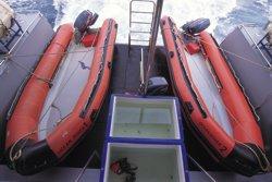 Таиланд дайвинг сафари яхта M/V Ocean Rover 2 зодиака