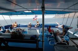 Таиланд дайвинг сафари яхта M/V Ocean Rover sun deck