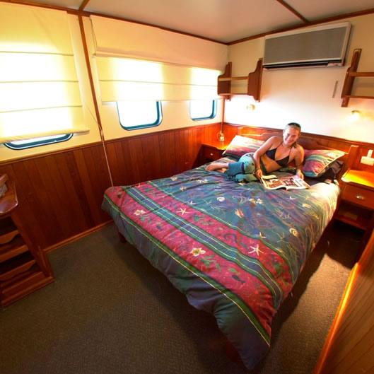 дайвинг сафари австралия ocean view deluxe cabin
