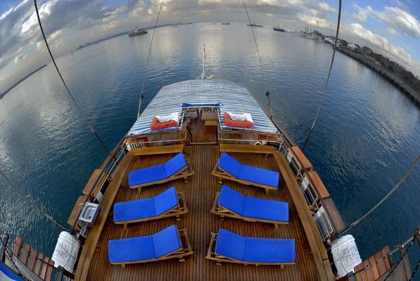 дайвинг сафари Индонезия, дайвинг сафари Комодо, яхта Sea Safari VI дайвинг комодо
