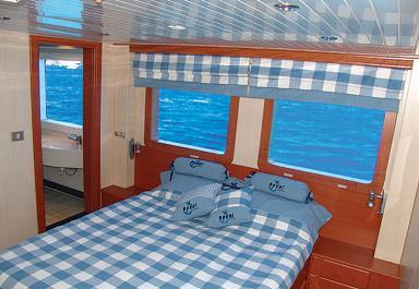 Красное море Судан дайвинг сафари яхта M/Y Royal Evolution каюта