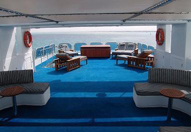 Красное море Судан дайвинг сафари яхта M/Y Royal Evolution sun deck