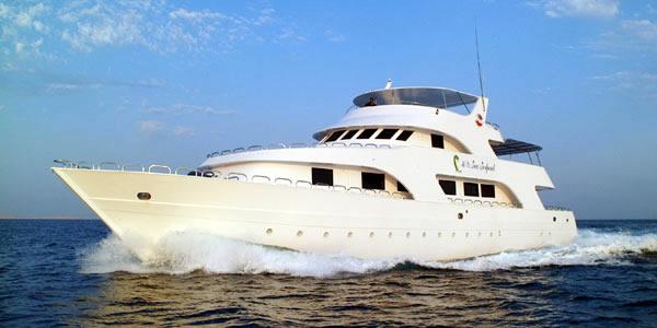 Египет дайвинг сафари яхта M/Y Sea Serpent