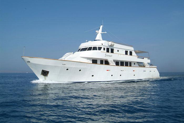 Красное море Судан дайвинг сафари яхта M/Y Sherazade