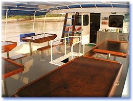 Таиланд дайвинг сафари яхта M/V White Manta upper deck